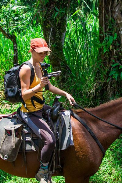Marion FERNANDEZ à cheval