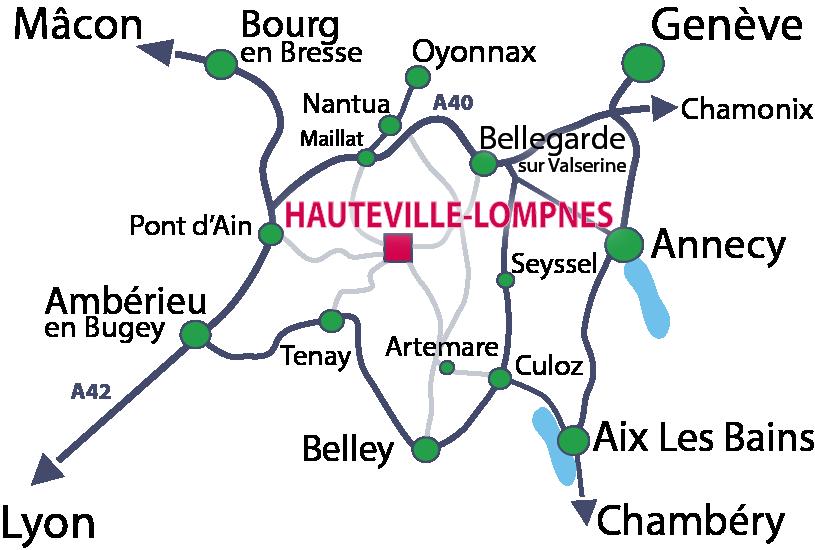 Situer Hauteville